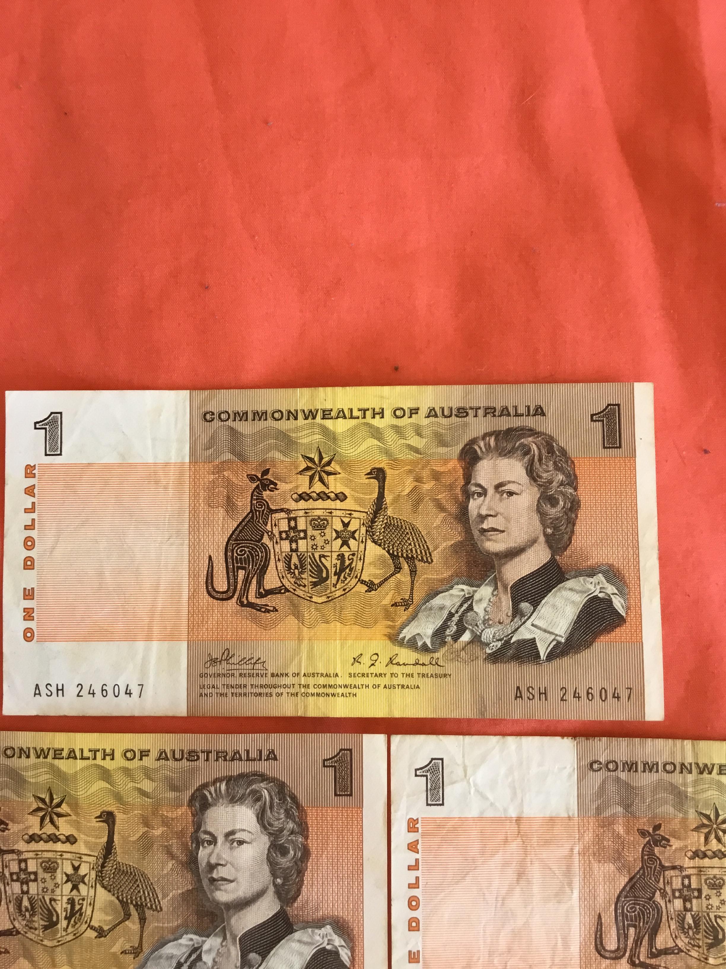 Australian 1 dollar note