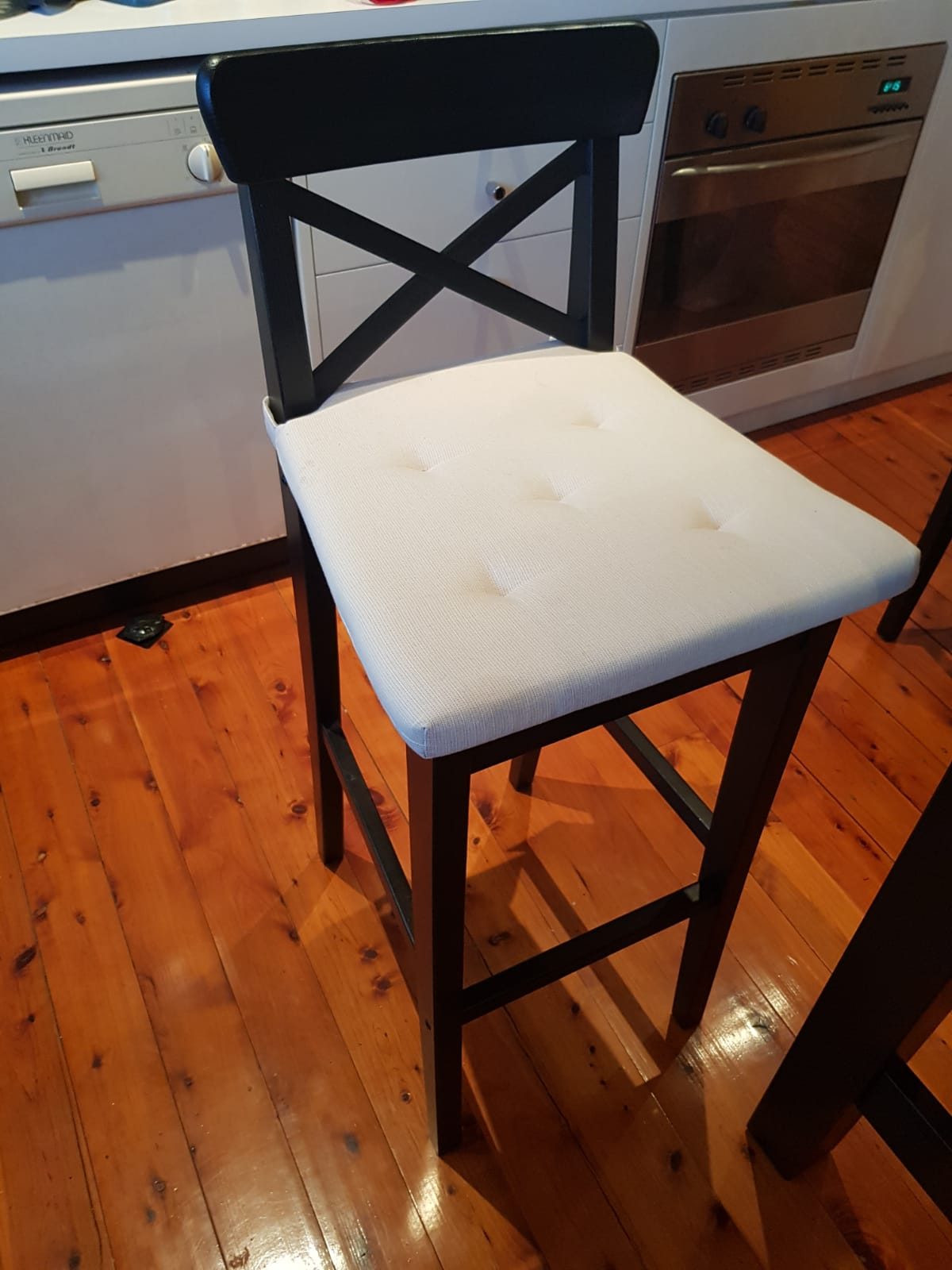 Ikea breakfast table with chairs set