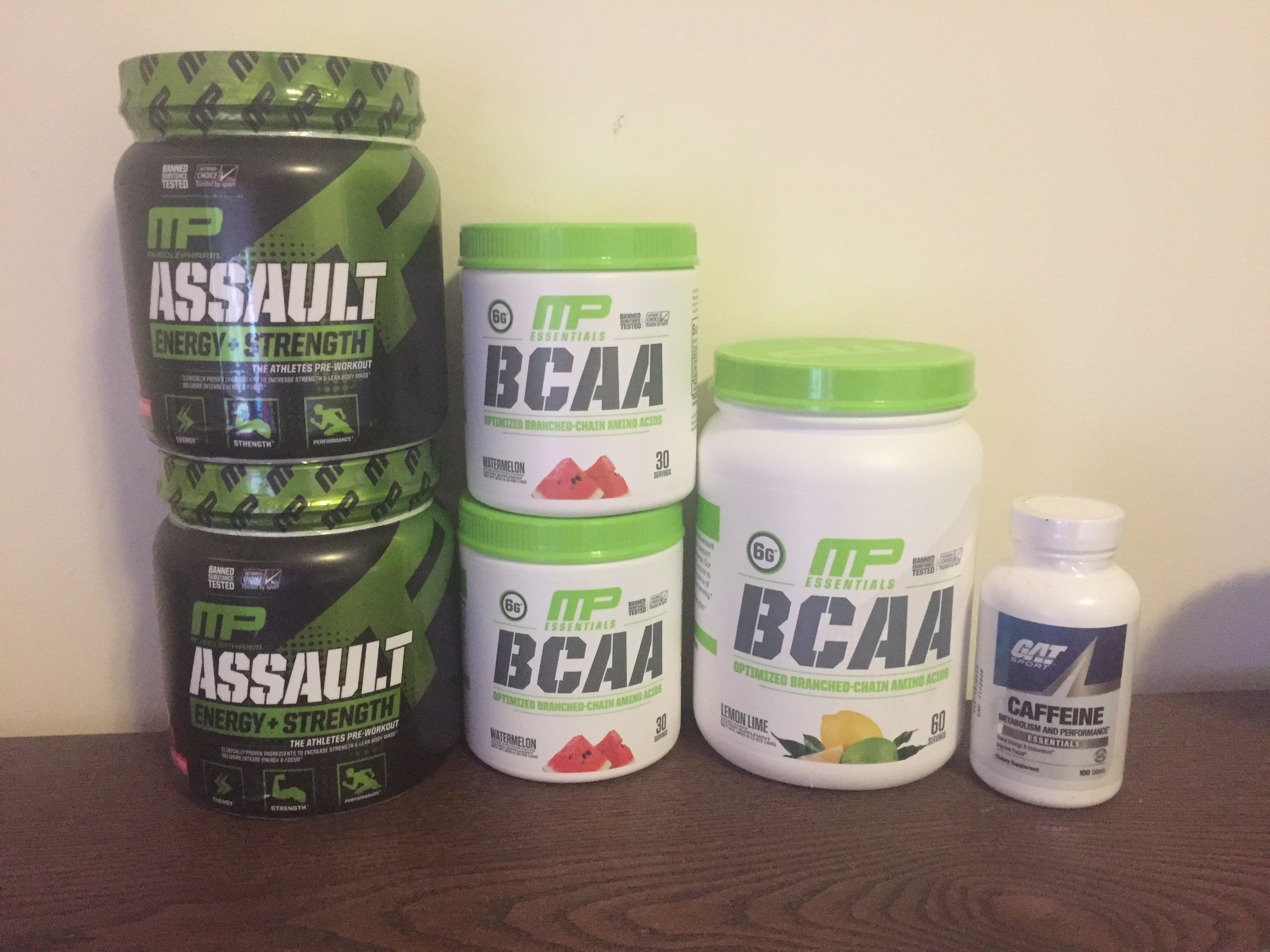 MusclePharm BCAA, Pre workout, 30 serves