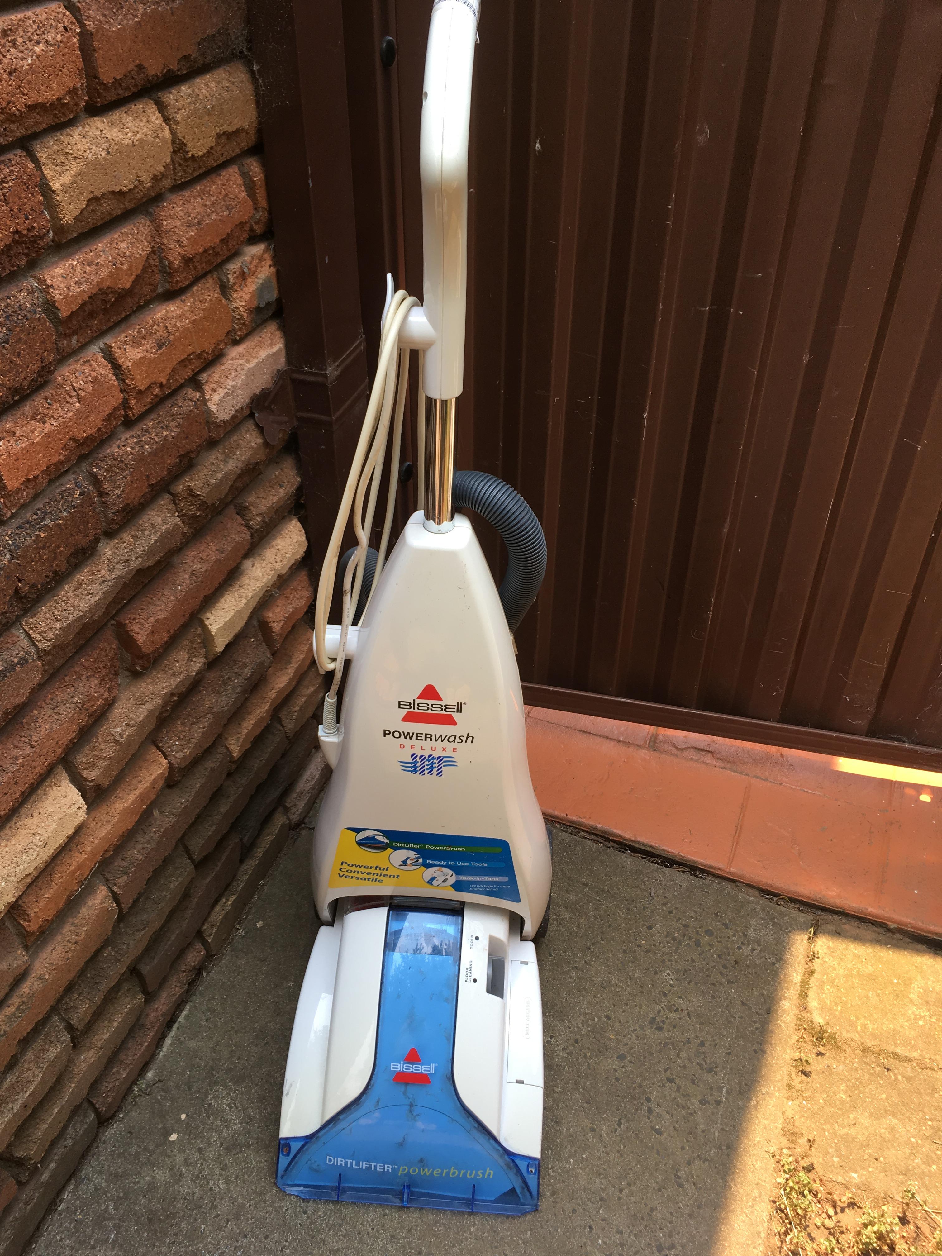Bissell Powerwash Carpet Shampooer Model 1694 – F