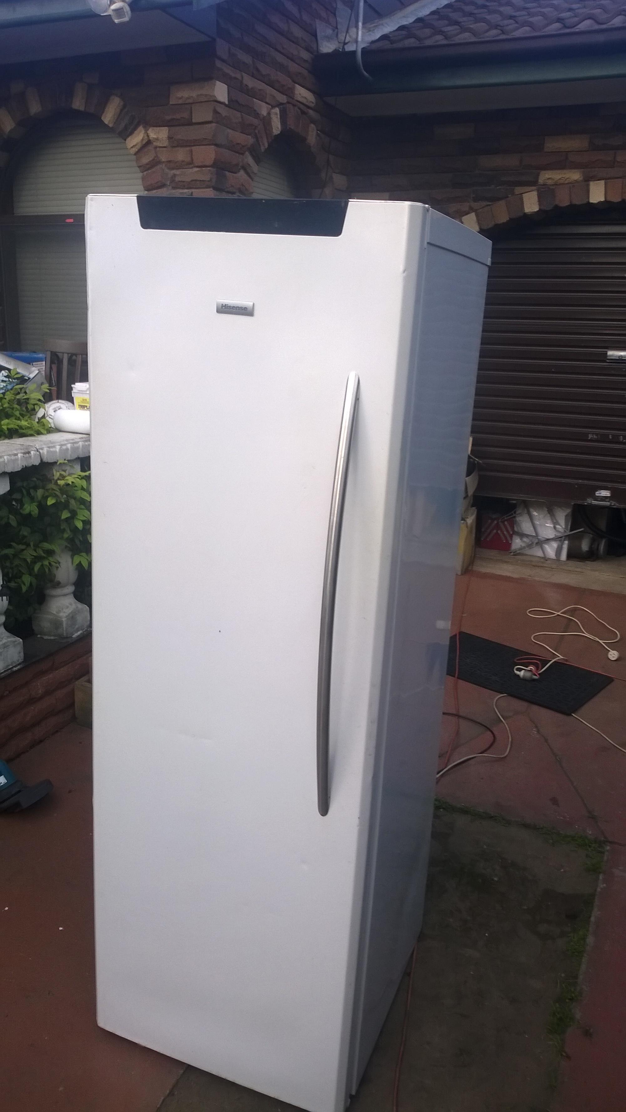 Hisense Freezer Model: HR6VFF255
