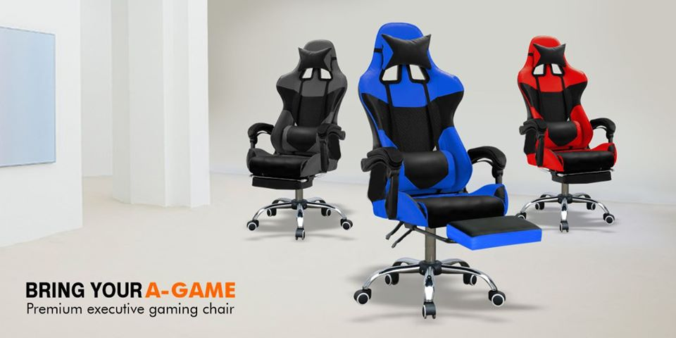 Latest Gaming Chair Office Executive Computer Chairs PU Leather Seating