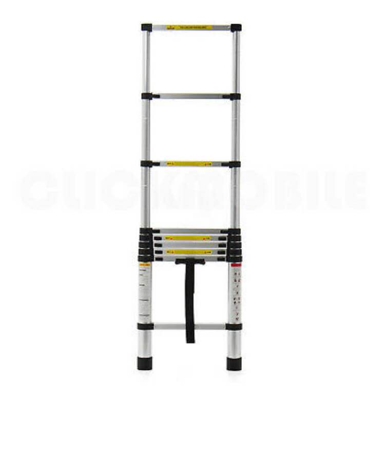 Industrial Aluminium Telescopic ladder Extendable Extension Ladders folding step Free Delivery