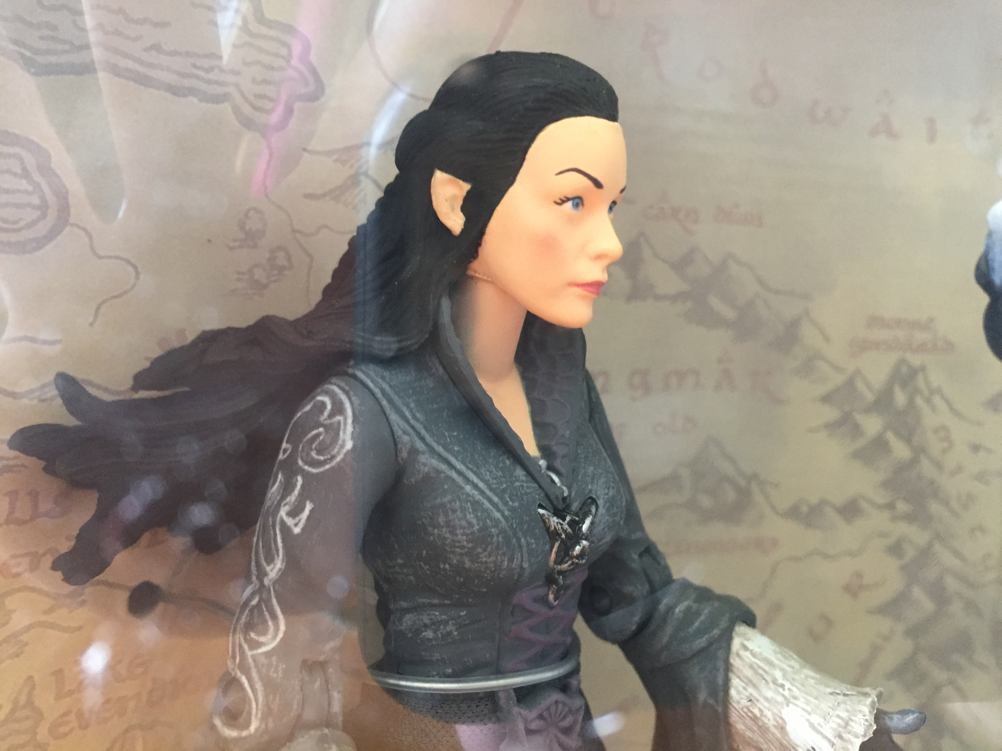 Lord of The Rings Action Figure – Arwen and Asfaloth Horse with Frodo (NEW IN BOX)