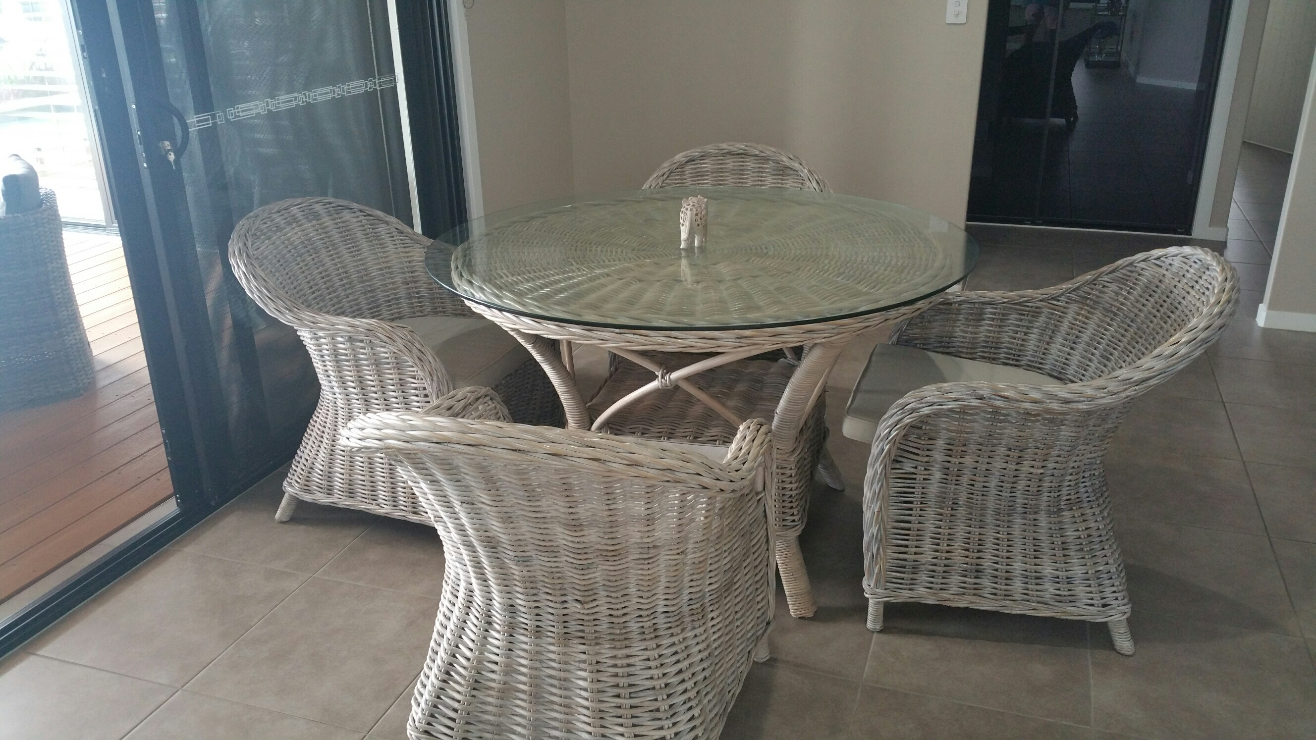 Out door and indoor Dining tables with chairs