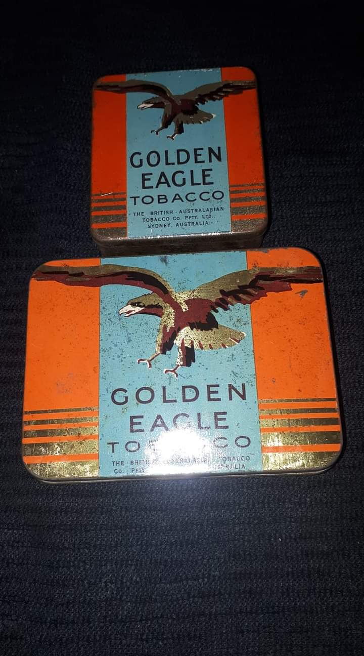 Golden eagle Tobacco tins
