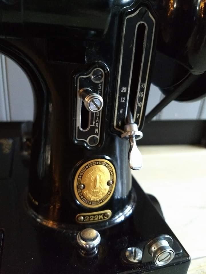 Singer 222k Sewing Machine