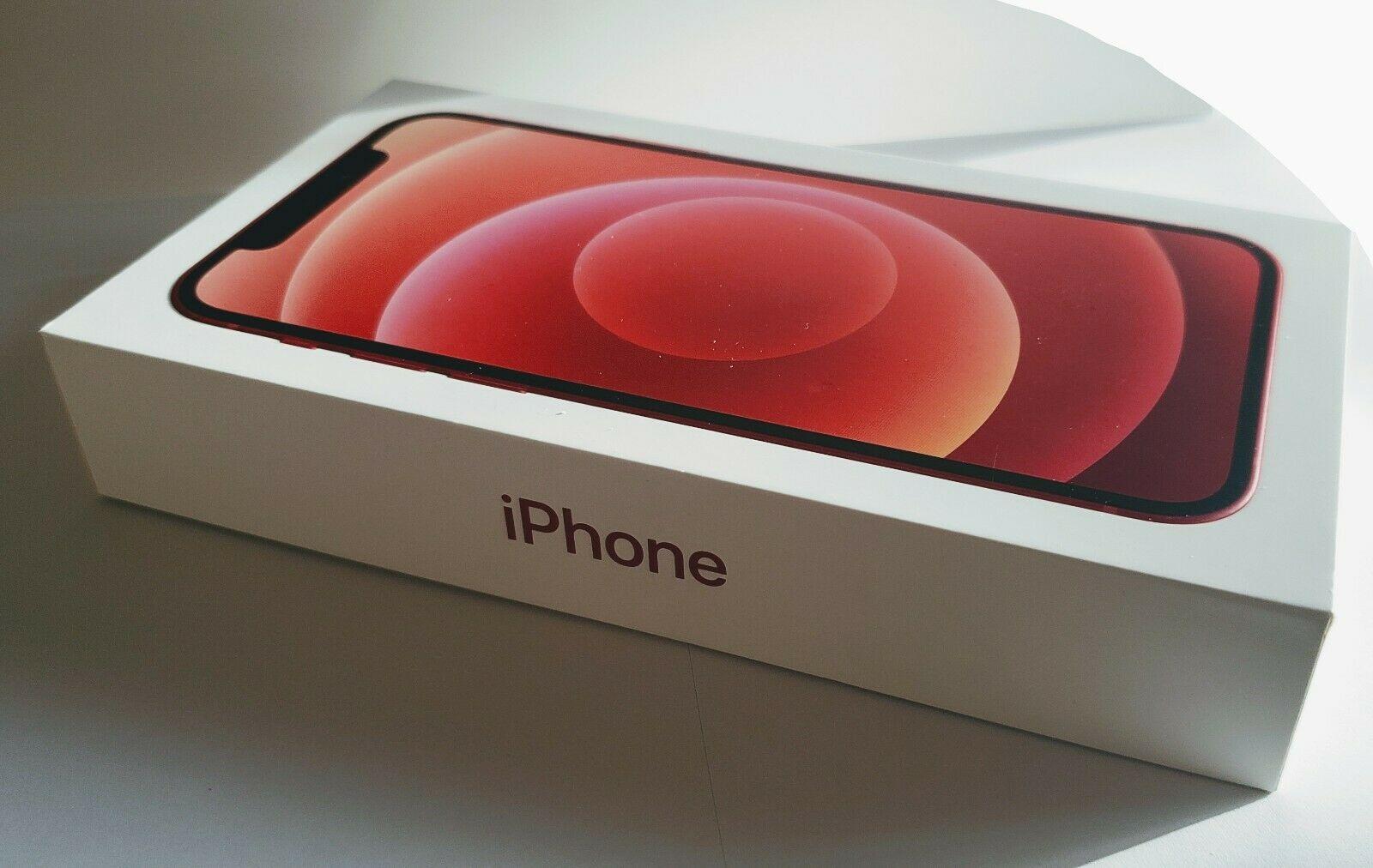 NEW Apple iPhone 12 RED 5G 64GB Unlocked