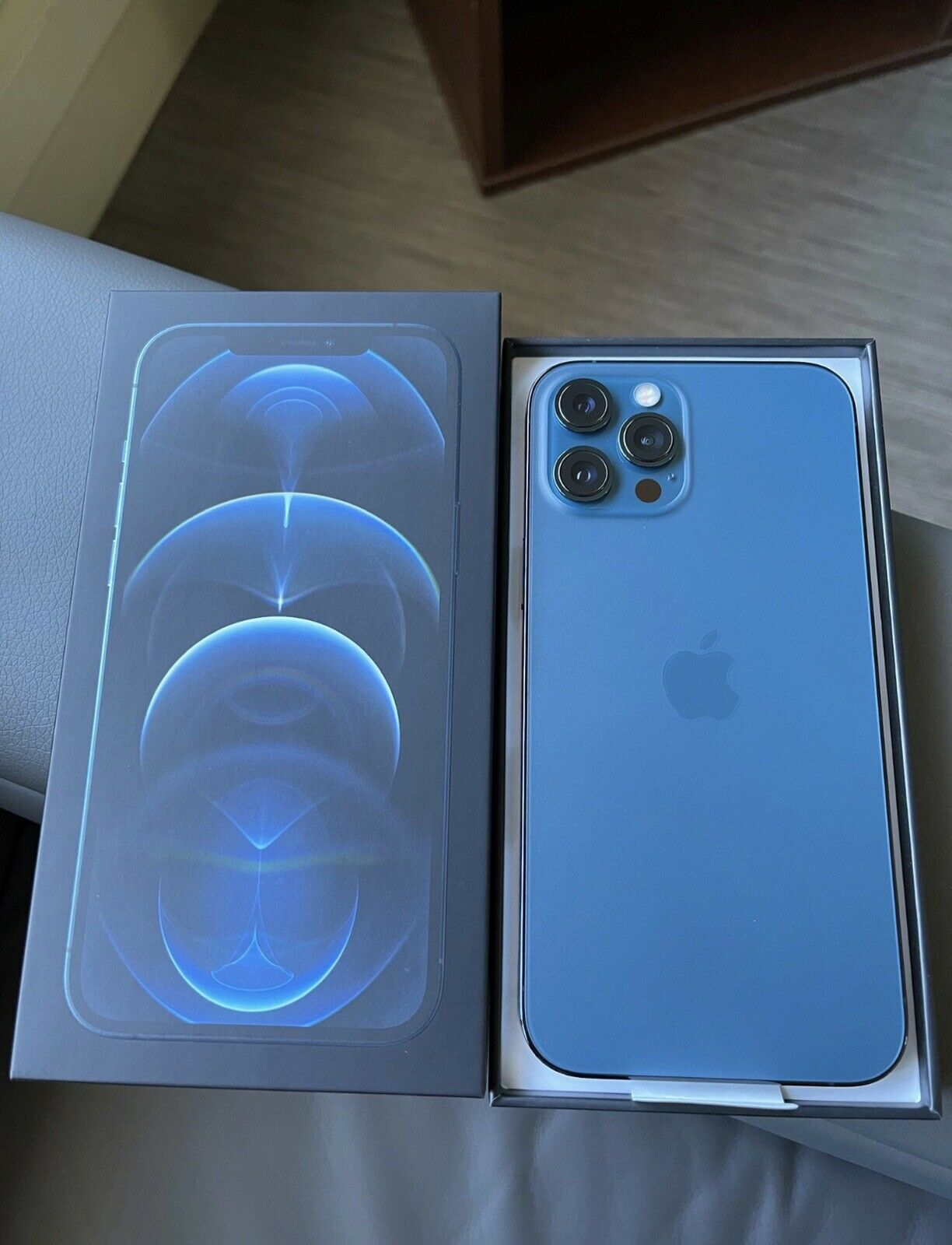 New Apple iPhone 12 Pro Max – 512GB – Pacific Blue